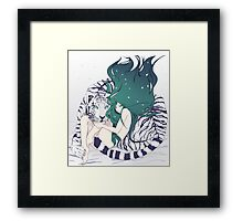 Frosty Goddess  Framed Print