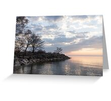 Lakeside Peace And Tranquility Greeting Card
