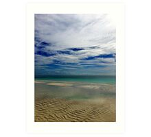 Caribbean Sea Art Print