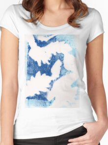 Blue Warmth Women's Fitted Scoop T-Shirt
