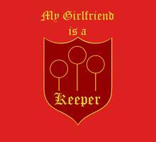 My Girlfriend is a Keeper - Gryffindor Unisex T-Shirt