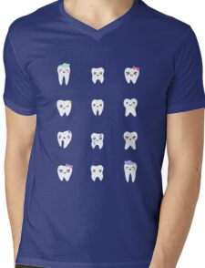 Little Toofs Mens V-Neck T-Shirt