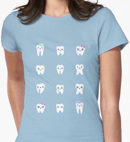 Little Toofs Womens Fitted T-Shirt