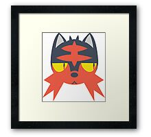 Pokemon - LITTEN Framed Print
