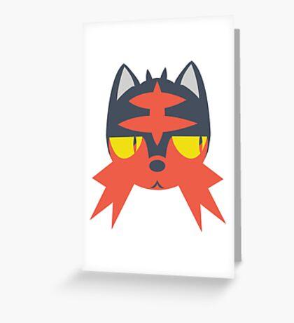 Pokemon - LITTEN Greeting Card