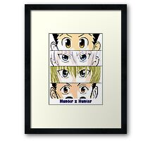 Hunter x Hunter Squad Framed Print