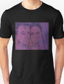 Amazed Man and Awesome Woman Unisex T-Shirt
