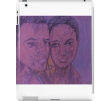 Amazed Man and Awesome Woman iPad Case/Skin