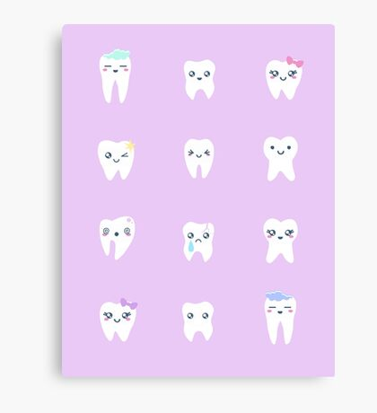 Little Toofs Canvas Print