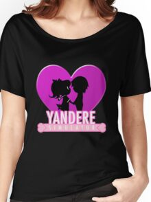Yandere Simulator - Yandere Love Print Women's Relaxed Fit T-Shirt