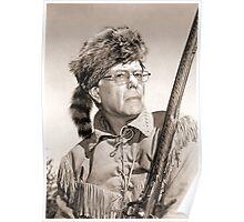 Bernie Sanders as Daniel Boone Poster