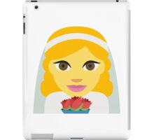 Bride emoji iPad Case/Skin