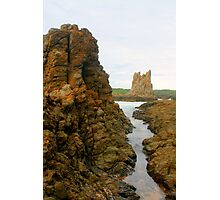Cathedral Rocks at Bombo Photographic Print