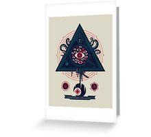 All Seeing Greeting Card