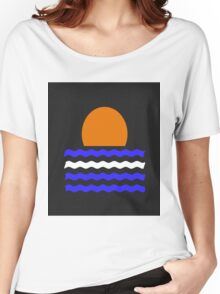 Simple Sunset Women's Relaxed Fit T-Shirt