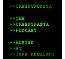 CreepyPodsta Podcast Logo Photographic Print