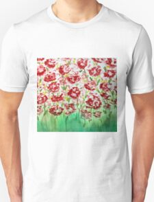 Red watercolor Unisex T-Shirt