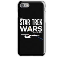 Star Trek Wars Logo w/ Background iPhone Case/Skin