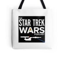 Star Trek Wars Logo w/ Background Tote Bag