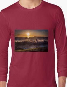 Spring Sunset at Windansea Beach Long Sleeve T-Shirt