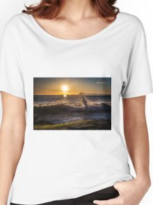 Spring Sunset at Windansea Beach Women's Relaxed Fit T-Shirt