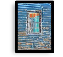 WWII Window Panes Canvas Print