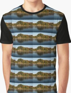 Bright and Sunny Fall Reflections Graphic T-Shirt