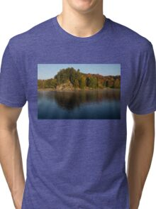 Bright and Sunny Fall Reflections Tri-blend T-Shirt