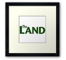 The Land Pavilion - Epcot Framed Print