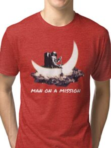 Man on a Mission Tri-blend T-Shirt