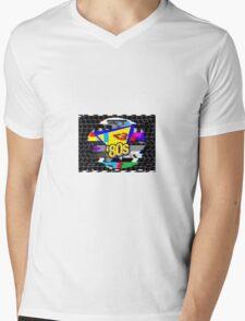 I <3 80s Mens V-Neck T-Shirt