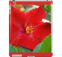 Hibiscous V If you like, please purchase, try a cell phone cover thanks iPad Case/Skin