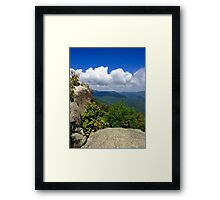My View From The Top Framed Print