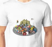 Indie Game Collage Unisex T-Shirt