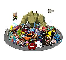 Indie Game Collage Photographic Print
