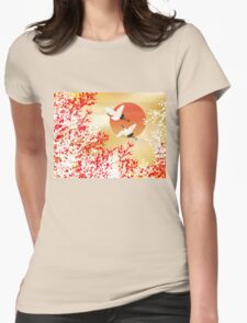 japan 2 Womens Fitted T-Shirt