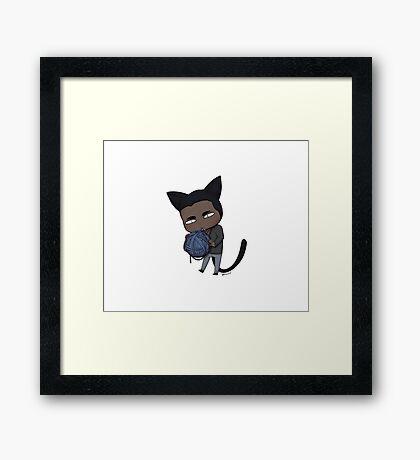 Yarn Nom Framed Print