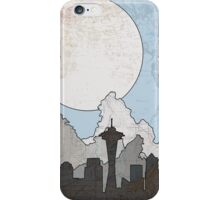 Map to the Pacific Northwest iPhone Case/Skin