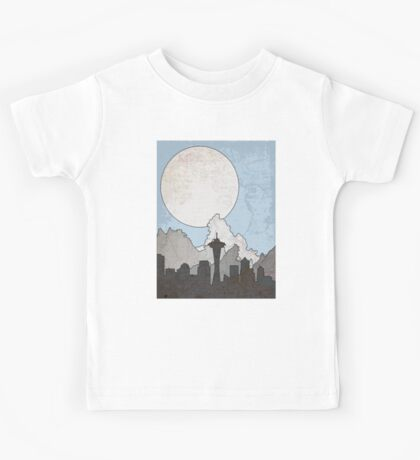 Map to the Pacific Northwest Kids Tee