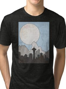 Map to the Pacific Northwest Tri-blend T-Shirt