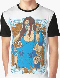 Pinochio Girlfriend Colour Graphic T-Shirt