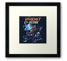ratchet and clank movie Framed Print