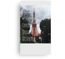 Explore: Tokyo Tower  Canvas Print