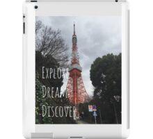 Explore: Tokyo Tower  iPad Case/Skin