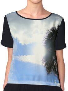 The Sun and the Palm Tree Chiffon Top