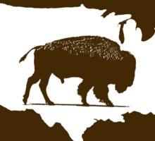 The American Bison Sticker
