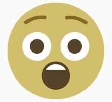 Shocked emoji Kids Tee
