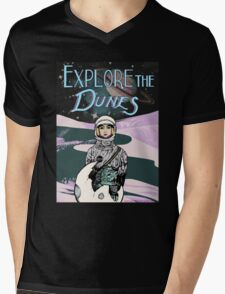 SPACE~ANGEL Mens V-Neck T-Shirt