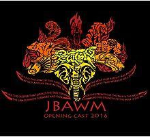 JBAWM Red Flower Photographic Print