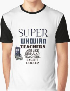 Perfect For The Supernatural /Doctor Who Fan! Graphic T-Shirt